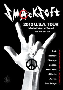 Infinite Extent of SOUND 2012 SMACKSOFT USA tour