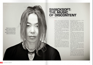 SMACKSOFT's interview w/ Groove Magazine, August issue